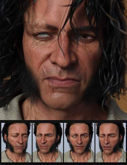 Scourge of the Seas Expression Morphs for Wolfgang 8.1