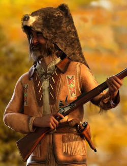 dForce Mountain Trapper Outfit for Genesis 8 Male