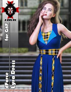 JMR dForce Lyra Dress for G8F