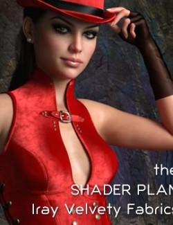 Shader Plan - Iray Velvety Fabrics