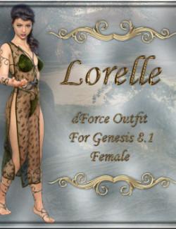 dForce Lorelle for Genesis 8.1 Female