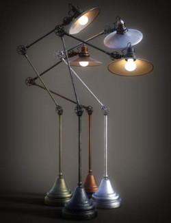 B.E.T.T.Y. Adjustable Floor Lamps