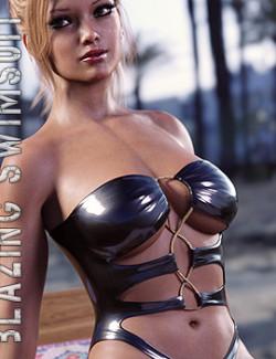 Blazing Swimsuit for Genesis 8 Females