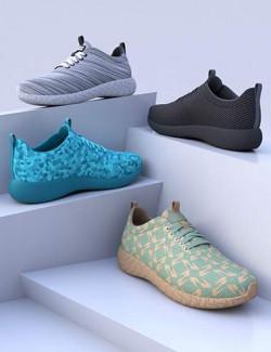 HL Comfort Sneakers for Genesis 8 and 8.1 Females
