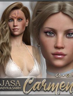 JASA Carmen for Genesis 8 and 8.1 Female