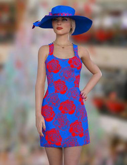 dForce Catie Outfit Texture Expansion