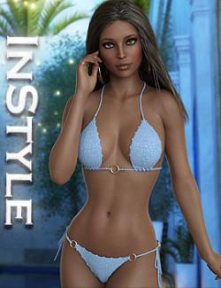 InStyle - Crochet Bikini Set for G8F