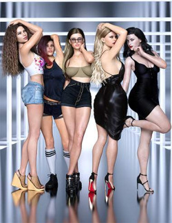 Z Style Icons Body Shapes and Poses Mega Set for Genesis 8 Female