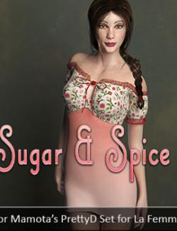 Sugar & Spice for Mamota's PrettyD Set for La Femme