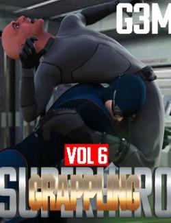 SuperHero Grappling for G3M Volume 6