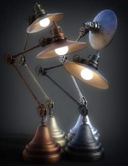 B.E.T.T.Y. Adjustable Desk Lamps