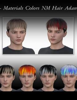 Materials Colors NM Hair Adam