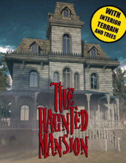 The Haunted Mansion for DS Iray