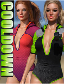 Cooldown Textures for Endurance Outfit G8F