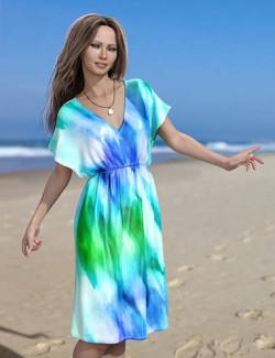 Beach Caftan for Genesis 8 and 8.1 Females