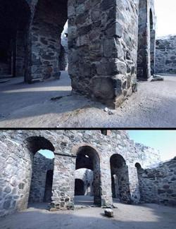 HD Scans Church Ruin