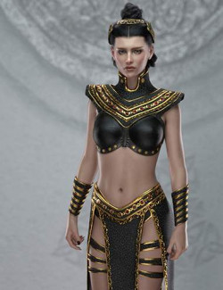 Night Queen Outfit for Genesis 8 Females