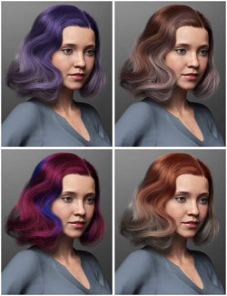 Vintage Curl Hair Texture Expansion