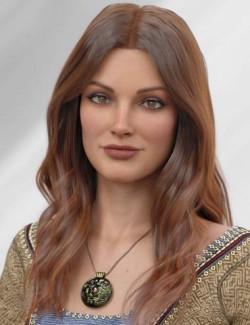 dForce Kensington Hair for Genesis 8 and 8.1 Females