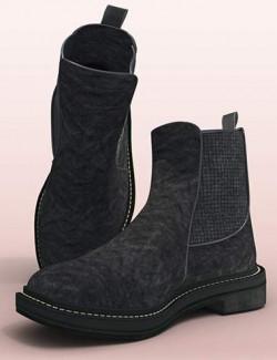 Fashion Basics: Chelsea Boots for Genesis 8.1
