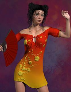 More Pretties For Mamota's Pretty Dress For La Femme