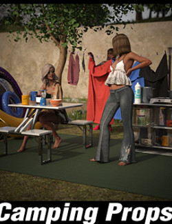 Camping Outdoor Props