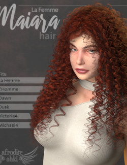 Maiara Hair for La Femme and more