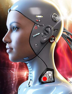 Athena HD Cyborg for Genesis 8.1 Female
