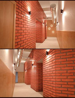 Yoga Club Corridor