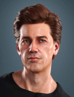 SP Hair 018 for Genesis 3 and 8 Males