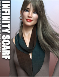 dForce Infinity Scarf and Earrings G8F