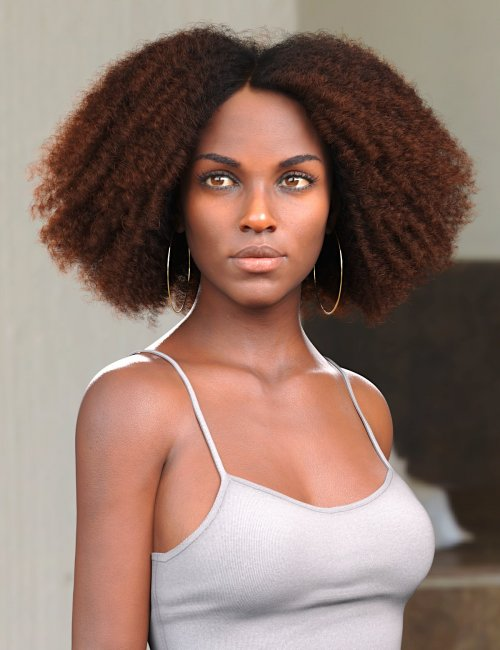 Tallia Hair for Genesis 8 and 8.1 Females