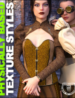OOT PBR Texture Styles for Steampunk Outfit