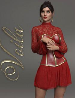Voila dForce dress for Genesis 8 Females