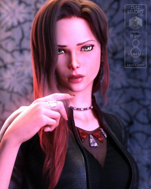 Azkira for Genesis 8 Female