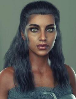 MaKg Hair for Genesis 8 and 8.1 Females