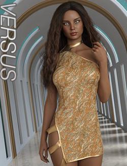 VERSUS- dForce Extended Dress for Genesis 8 Females