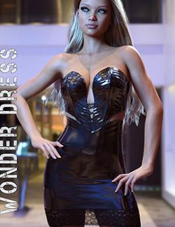 dForce Wonder Dress for Genesis 8 Females