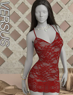 VERSUS - dForce Party Dress for Genesis 8 and 8.1 Females