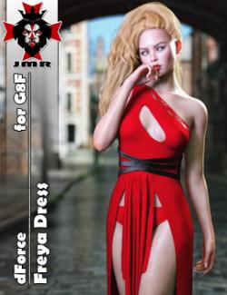 JMR dForce Freya Dress for G8F