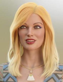 dForce Suzina Hair for Genesis 8 and 8.1 Females