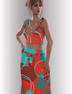 dForce Zara Homewear for Genesis 8.1 Females