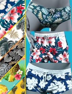 MI Summer Swimwear Set Texture Add-on