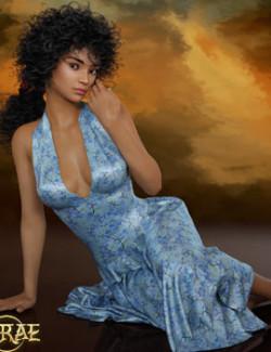 Prae-Breezy Dforce Dress For G8F Daz