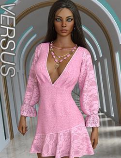 VERSUS - dForce Iris Dress Dress for Genesis 8.1 Females