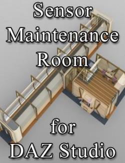 Sensor Maintenance Room for DAZ Studio