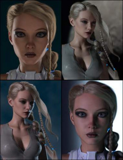 Render RY Xara - Lights, Cameras, and Expressions for Genesis 8.1 Female