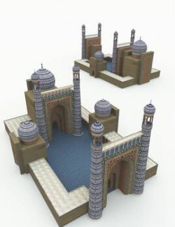 Mosque for Poser
