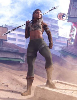 Zero38 Outfit for Genesis 8 Females