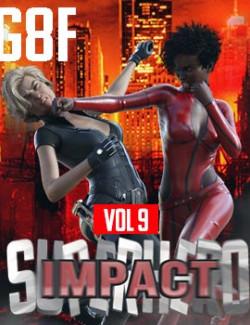 SuperHero Impact for G8F Volume 9
